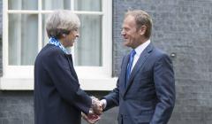Theresa May i Donald Tusk, 7 kwietnia 2017 fot. Jay Allen, flickr.com (cc)