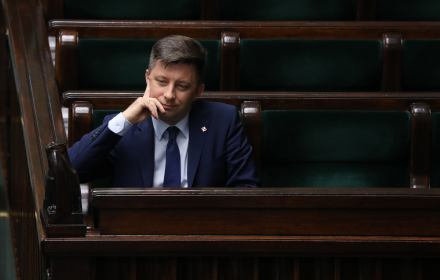 Michał Dworczyk, szef Kancelarii Premiera. Ślaski sejmik przejęty przez PiS