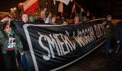 Marsz Patriotow w Swieto Niepodleglosci