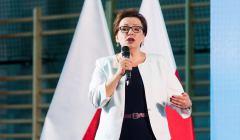 Wizyta Minister Anny Zalewskiej na rozpoczeciu roku szkolengo 2018/2019 w Szkole Podstawowej w Lutyni