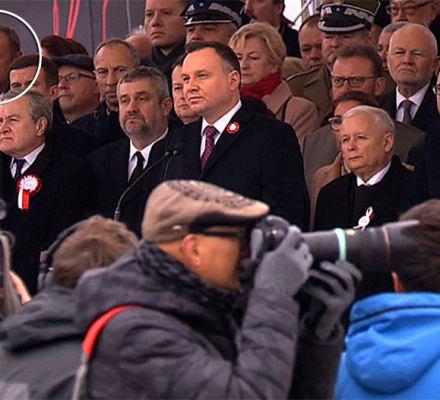 Andrzej Duda nie przywitał Donalda Tuska. Prezydent Europy jako