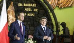 Wizyta premiera Mateusza Morawieckiego w Kopalni Wegla Kamiennego Ruch Ruda Bielszowice