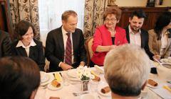 Wizyta Donalda Tuska w Zabierzowie Bochenskim