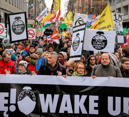 Wojna atomowa na Marszu dla Klimatu