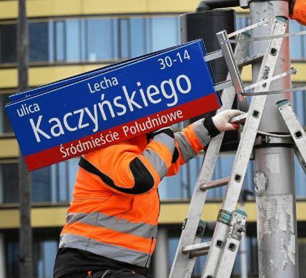 Ale hucpa! Po klęsce w sądzie IPN apeluje o zachowanie zdekomunizowanych nazw ulic