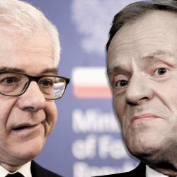 Jacek Czaputowicz, Donald Tusk