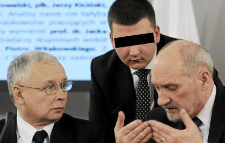 Postrach wojskowych Bartłomiej M. wpadł na imprezie na cześć Macierewicza