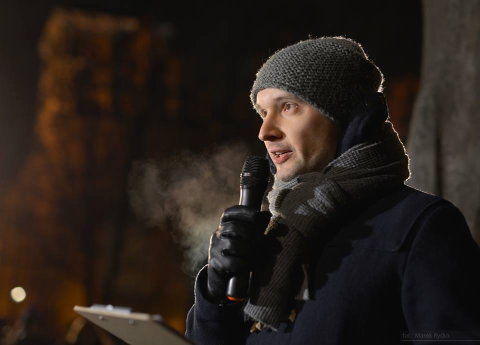 """""""NIE dla pedofilii w kościele TAK dla Komisji Prawdy i Zadośćuczynienia!"""", 12 stycznia 2019, Gdańsk, fot. Marek Ryćko"""