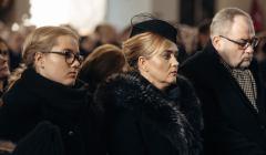Uroczystosci pogrzebowe Pawla Adamowicza . Pogrzeb w Bazylice Mariackiej .