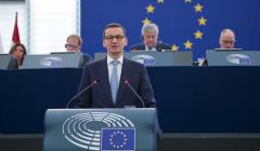 Morawiecki z Parlamencie europejskim