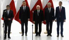 Tablica Lecha Kaczynskiego w Sejmie