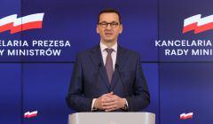 Spotkanie premiera Mateusza Morawieckiegp z czlonkiem zarzadu Mercedes - Benz Cars Marcusem Schaferem w Warszawie