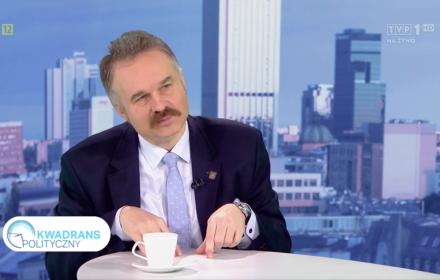 """""""Kwadrans polityczny"""" TVP"""