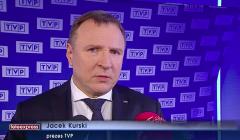 Jacek Kurski, źródło: TVP Info