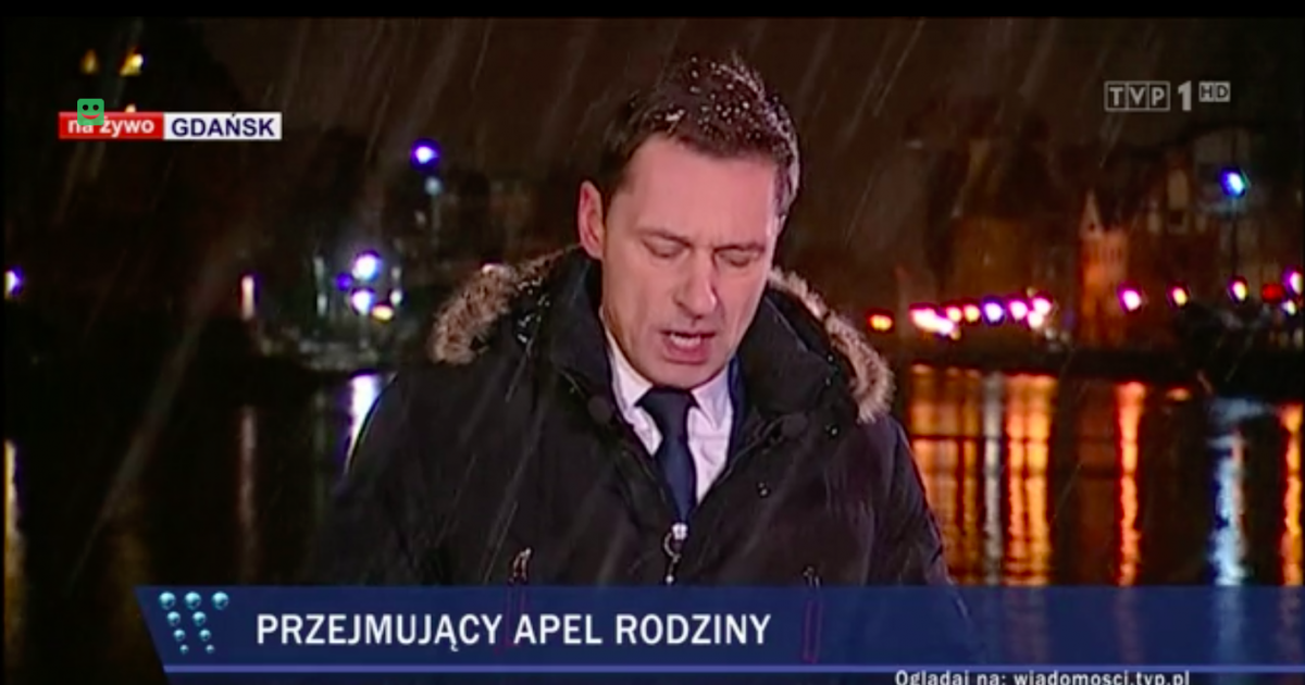 Wiadomości TVP, Krzysztof Ziemiec, 14 stycznia 2019