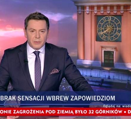 """Szczyt lizusostwa. Dobranocka o taśmach dla Kaczyńskiego w """"Wiadomościach"""" TVP"""