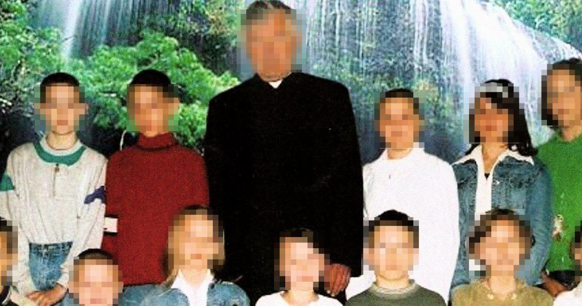 Piotr D. z dziećmi