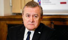 Minister kultury i dziedzictwa narodowego Piotr Glinski w Muzeum Ksiazat Czartoryskich w Krakowie