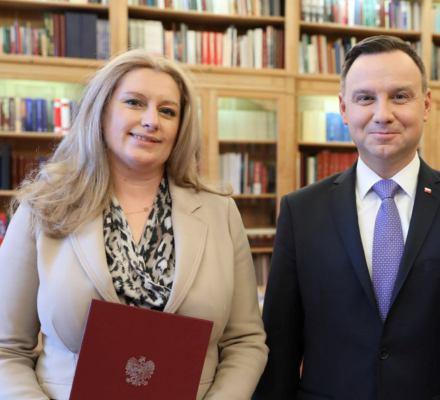 Prezydent Duda awansował na prezes Izby w SN bliską znajomą