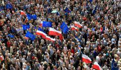 Demonstracja KOD we Wroclawiu