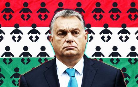 Więcej dzieci, ale tylko węgierskich! Jeśli demografia się nie zmieni, Orban zostanie nacjonalistą bez narodu