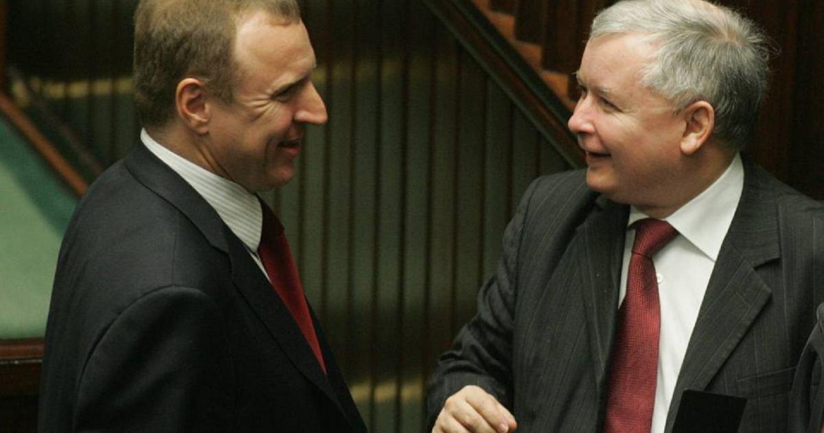 Prezes-TVP-Jacek-Kurski-i-prezes-PiS-Jaroslaw-Kacz
