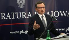 Konferencja prasowa Ziobry ws. reprywatyzacji w Krakowie