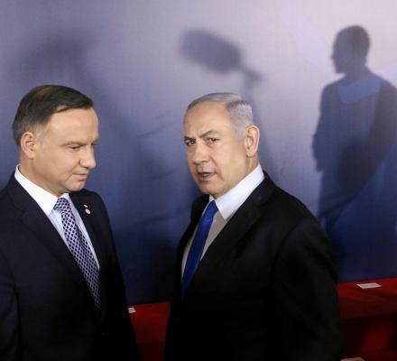Konferencja bliskowschodnia: premier Izraela prowadzi kampanię wyborczą kosztem Polski