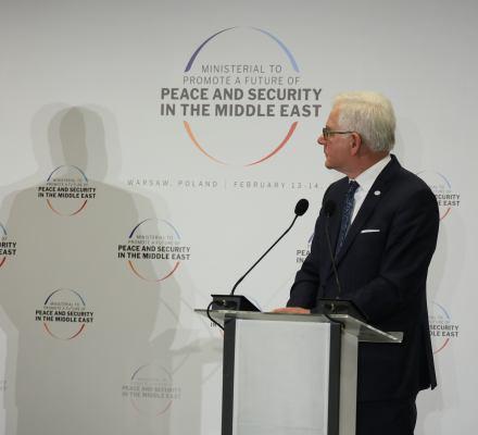 """Polacy, nic się nie stało. """"Szczyt bliskowschodni"""" okazał się katastrofą polskiej dyplomacji"""