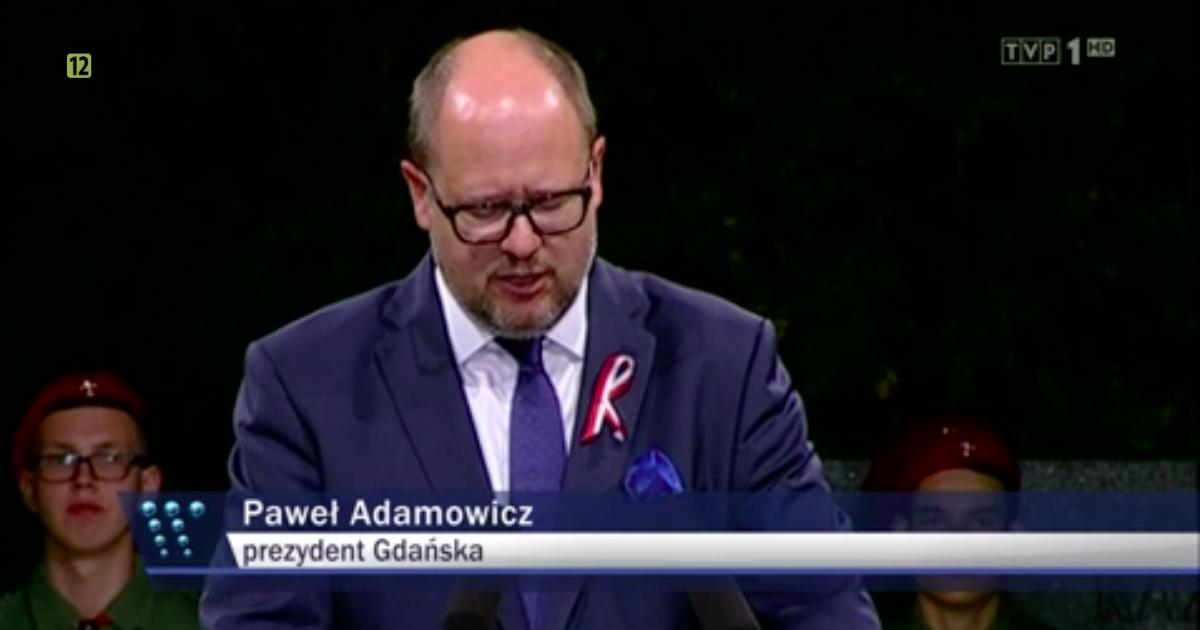 Paweł Adamowicz, TVP