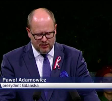 TVP mówiła o Adamowiczu prawie 1800 razy w 2018 roku. Średnio prawie 5 razy dziennie