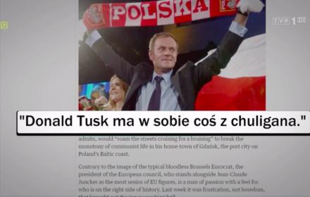 Donald Tusk, Guardian, Wiadomości TVP, 10 lutego 2019