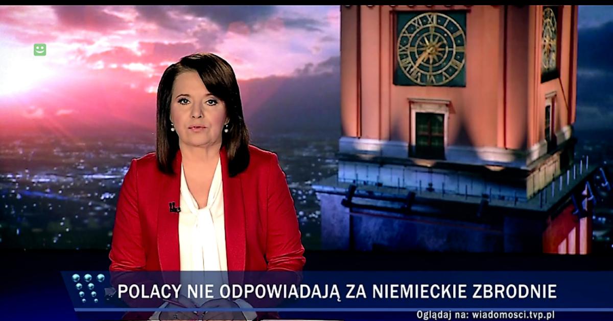 """""""Wiadomości"""" TVP oskarżają Żydów o"""