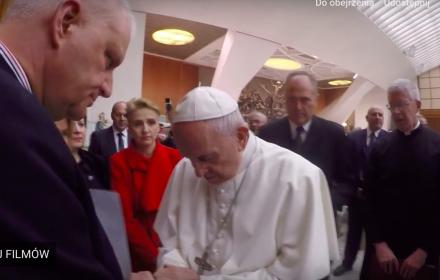 Marek Lisiński i papież Franciszek