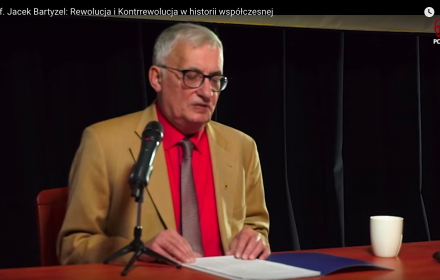 prof. Jacek Bartyzel, źródło: PCh24TV · Polonia Christiana