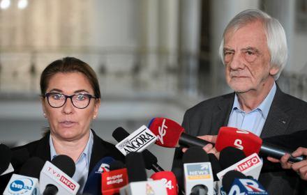 Beata Mazurek i Ryszrad Terlecki
