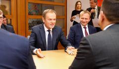 Donald Tusk rozmawia z premierem Irlandii Leo Varadkarem, Credits - (c) European Union, 2019