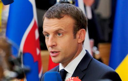 Na zdjęciu Emmanuel Macron. prezydent Francji. 5 marca 2018 zaproponował wspólne działanie na rzecz Unii Europejskiej