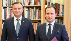 Andrzej Duda i Mariusz Rusiecki Fot. Krzystof Sitkowski - KPRP