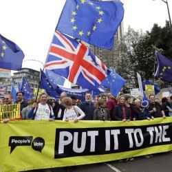 Marsz przeciwników Brexitu