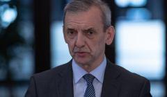 Konferencja prasowa Slawomira Broniarza w Warszawie w sprawie zakonczenia pierwszego etapu sporu zbiorowego