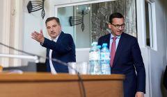 Mateusz Morawiecki na nadzwyczajnym posiedzeniu Komisji Krajowej NSZZ Solidarnosc