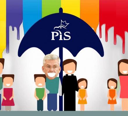 Karczewski: Obronimy polskie rodziny! Prawdziwym zagrożeniem jest homofobiczna i agresywna władza