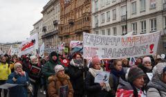 2019.03.05Protest pracowników sądów w Warszawie