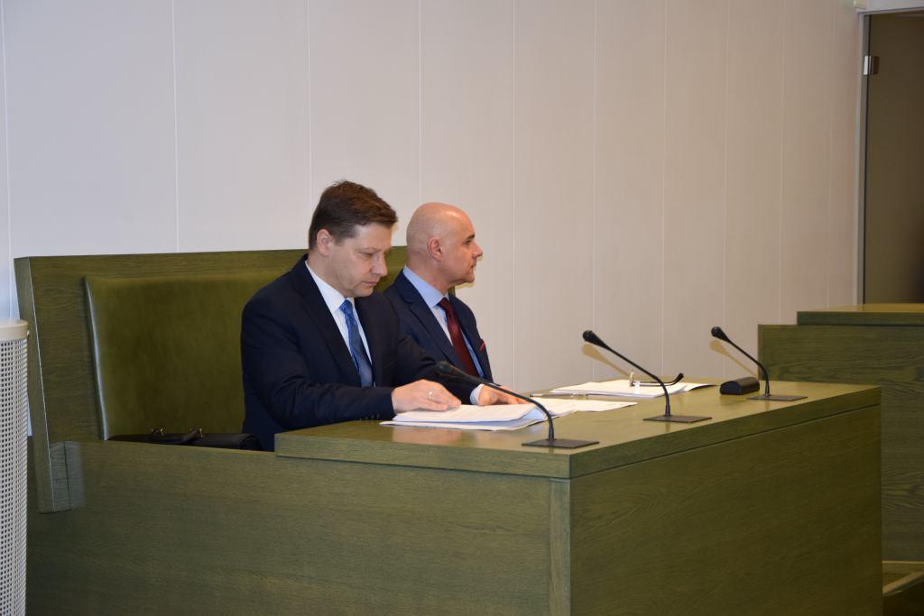 Recznik dyscyplinarny Piotr Schab, pierwszy z prawej
