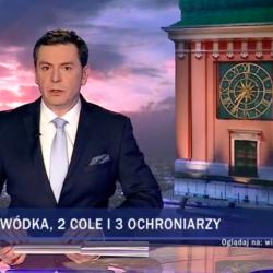 Wiadomości, 10 marca 2019, Aleksandra Dulkiewicz, cola, wódka