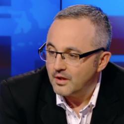 Piotr Gontarczyk w programie telewizyjnym