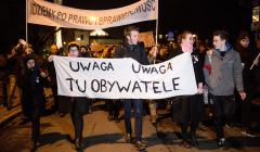 Demonstracja Obywateli RP w obronie praw i konstytucyjnego ustroju