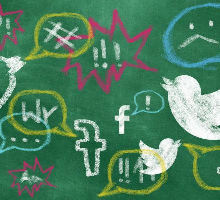 Fejkowe konta wyruszają na wojnę z nauczycielami. Rozgłos nadają im politycy PiS i prorządowe media