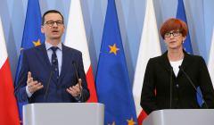 Konferencja prasowa premiera w Warszawie w sprawie przeksztalcenia OFE w IKE